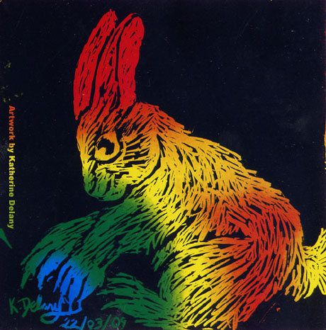 Rainbowy Rabbit