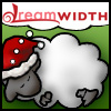 Dreamsheep with Santa hat